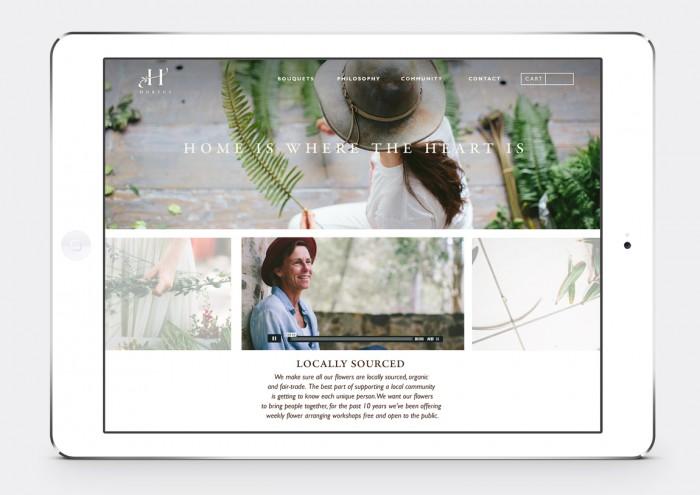 Hortus Florist Brand Identity
